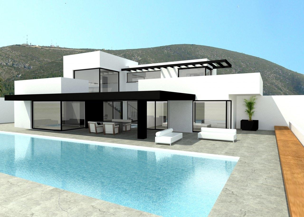 Cbt inmobiliaria teulada construcciones y obra nueva en for Departamentos arquitectura moderna